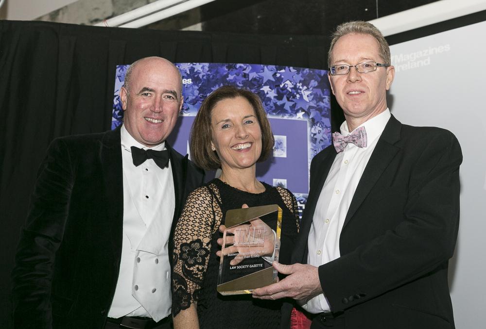 Photographer - Paul Sherwood | paul@sherwood.ie | 087 230 9096 | Irish Magazine Awards 2018, Lansowne Rugby Club, Dublin. November 29, 2018