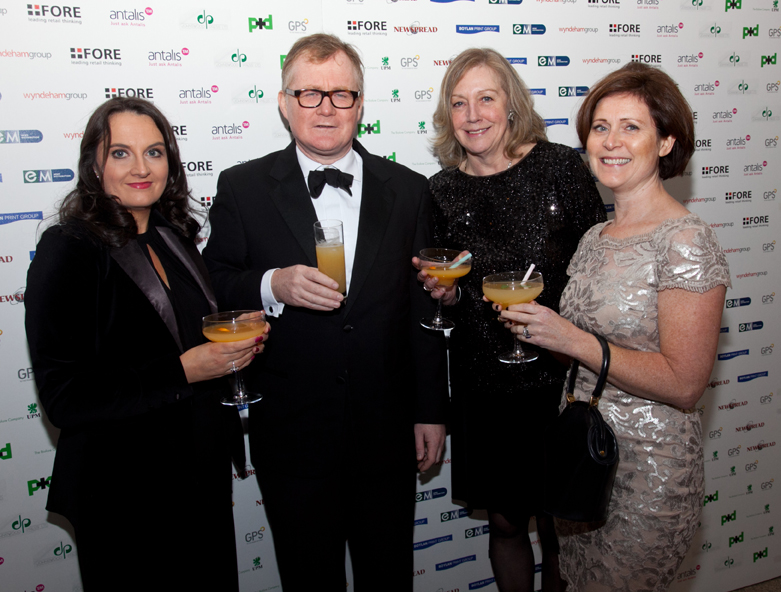 Julie Doyle, Keith Walsh, Maura Smith, Aine Hynes - Pres DSBA