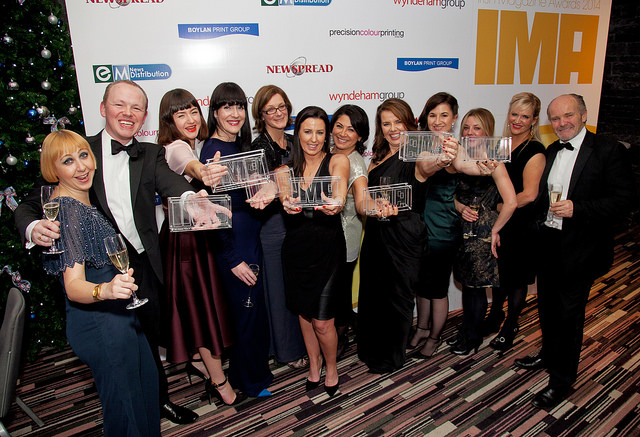 Image Publications Celebrate their win at the Irish Magazine Awards 2014
